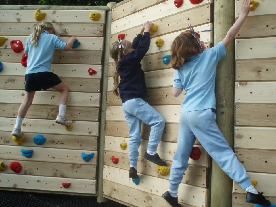 Climbing Wall at The Bramley School