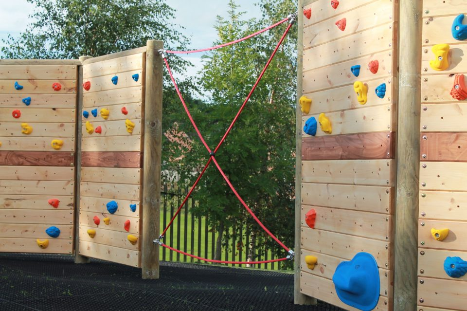 Climbing Wall at Southroyd Primary School