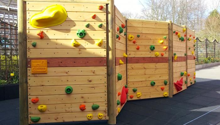 Freestanding Climbing Walls