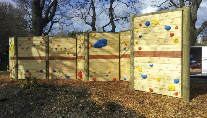 Free Standing Climbing Wall