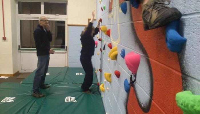 Bouldering Wall Matting