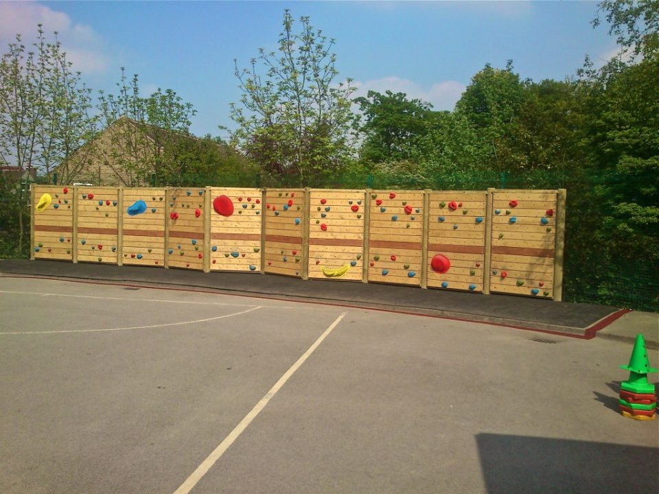 Climbing Wall at Ecclesall Junior School