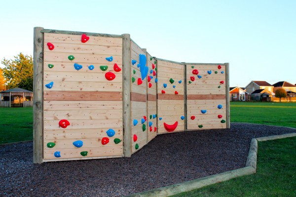 Climbing Wall At The Meadows Primary School Wall Climber