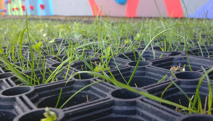 Rubber Grass Matting