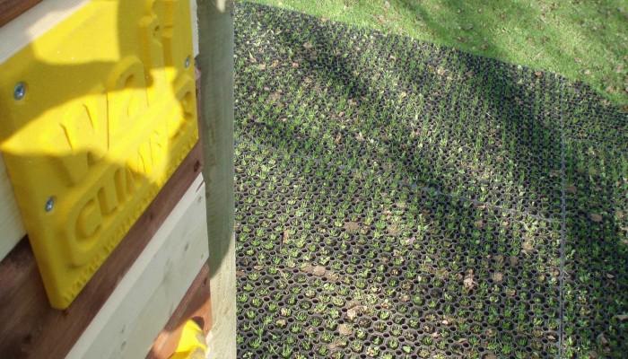 Rubber Grass Matting