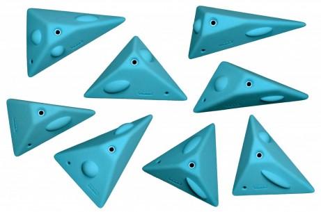 Geometric Wedges Climbing Holds