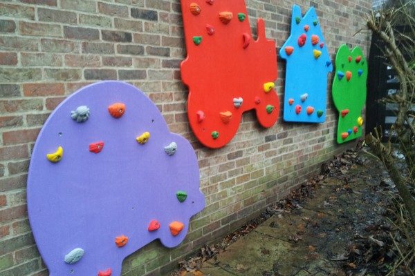 Climbing Shapes for Children