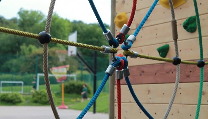 Freestanding Climbing Wall at Totley All Saints