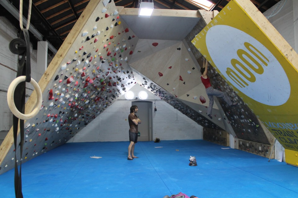The School Room at Moon Climbing