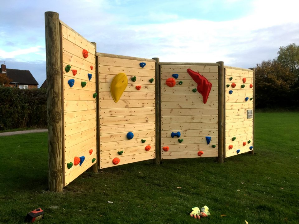 Freestanding Climbing Wall at Booth Wood Primary School