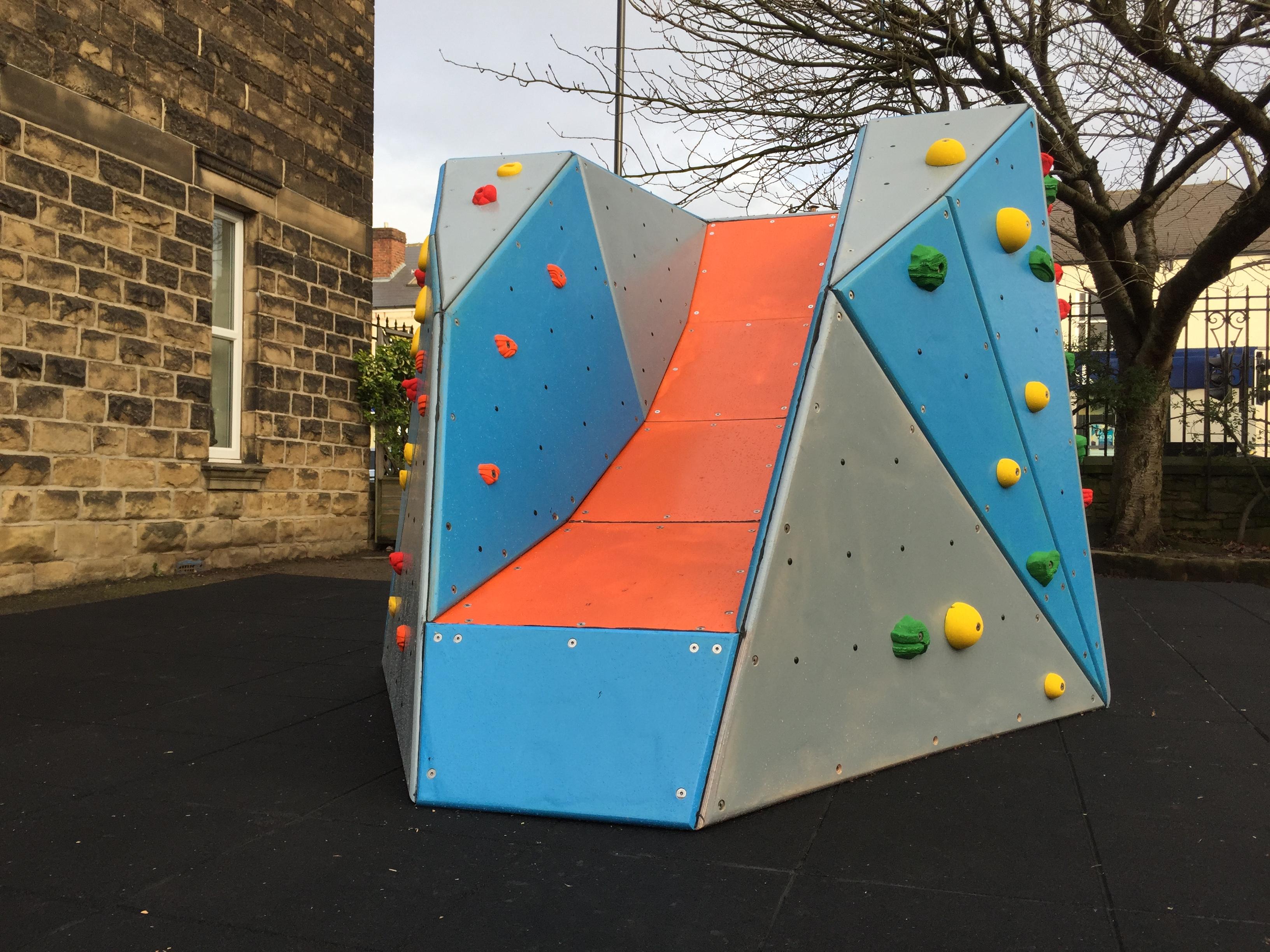 Playground Climbing Boulder Childrens Climbing Walls