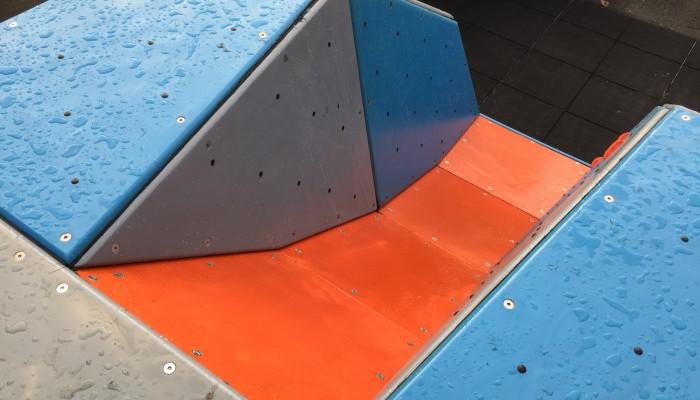 Playground Climbing Boulder