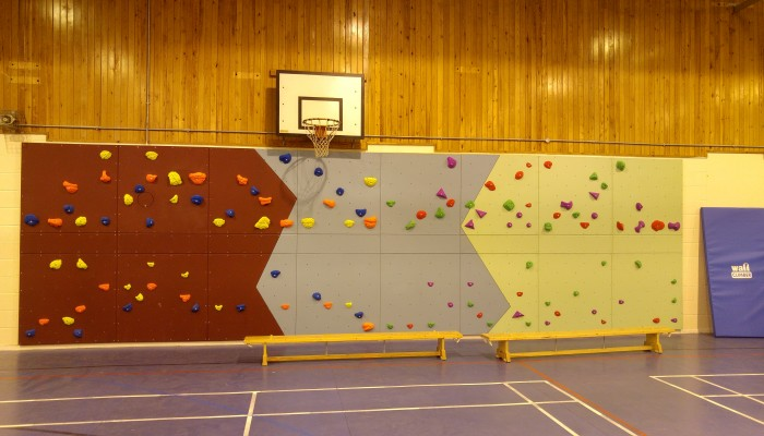 Roped Climbing Wall at Clifton Community School