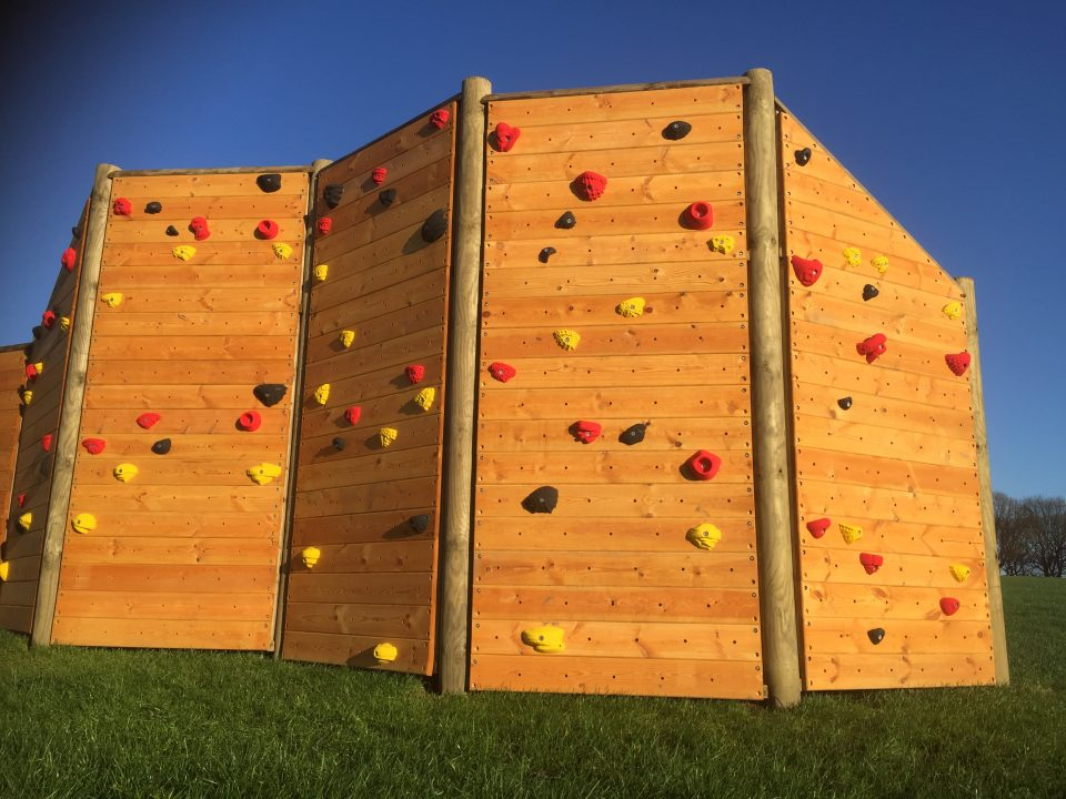 Climbing Wall at Reinwood Junior School